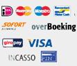 Betaalmethodes zoals iDeal, en bankoverboeking